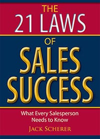 21 Laws of Sales Success book cover